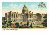 State Capitol, Harrisburg, Philadelphia, Pennsylvania Posters
