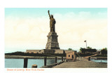 Statue of Liberty, New York Harbor Art
