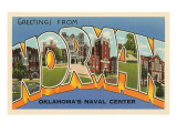 Greetings from Norman, Oklahoma Art