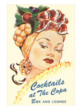 Cocktails at the Copa, Latin Bombshell, Graphics Poster