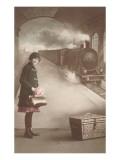 Souvenir d'Auderghem, Locomotive Backdrop Posters