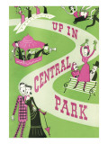 Up in Central Park Poster Posters