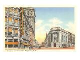 Calles Chenango y Court, Binghamton, Nueva York Láminas