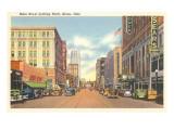Main Street, Akron, Ohio Poster