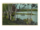 Campground near Tupper Lake, New York Poster