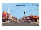 Main Street in Bend, Oregon Poster