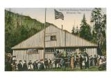 Fish Hatchery, Tillamook, Oregon Prints