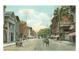 Main Street, Catskill, New York Prints