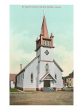 St. Mary's Catholic Church, Eugene, Oregon Prints