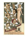 Paradise Girls, Cabaret Advertisement, New York City Prints