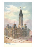 Public Buildings, Philadelphia, Pennsylvania Poster
