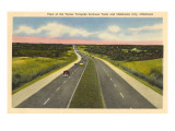 Turnpike, Oklahoma Prints