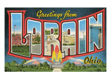 Greetings from Loran, Ohio Prints