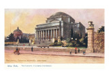 Library, Columbia University, New York City Posters