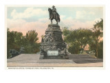Washington Statue, Philadelphia, Pennsylvania Print