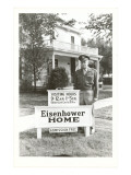 Eisenhower Home, Abilene, Kansas Print