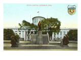 State Capitol, Columbus, Ohio Poster