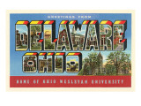 Greetings from Delaware, Ohio Prints