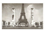 Paris International Exposition Print