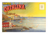 Postcard Folder, Santa Catalina, California Posters