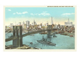 Brooklyn Bridge, New York City Prints
