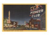 Pioneer Club, Las Vegas, Nevada Poster