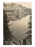 Phantom Lake, Crater Lake, Oregon Posters