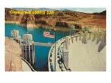 Greetings from Hoover Dam, Nevada Print