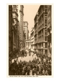 Broad Street Curb Brokers, New York Posters