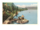 Shore, Mohonk Lake, New York Poster