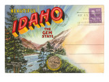 Postcard Folder, Beautiful Idaho Posters