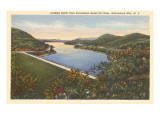 Sacandaga Reservoir Dam, Adirondacks, New York Poster