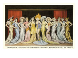 Hollywood Cabaret Ensemble, New York City Print