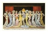 Hollywood Cabaret Ensemble, New York City Poster