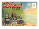 Postcard Folder, Scene from Holland, Michigan Art