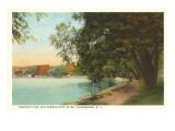 Crescent Park, Ogdensburg, New York Prints