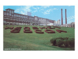 Factory Lawn, Hershey, Pennsylvania Prints