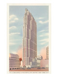 RCA Building, Rockefeller Center, New York City Prints