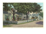 Siasconset, Street in Nantucket, Massachusetts Posters