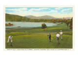 Golf Course, Cooperstown, New York Posters