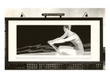 Billboard of Lady Rower, Beauty of Rowing Prints