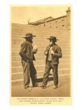 Amish Folk, Lancaster County, Pennsylvania Prints