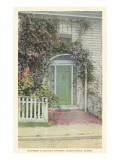 House on Quince Street, Nantucket, Massachusetts Posters