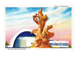 Riders of the Elements Statue, New York World's Fair Prints