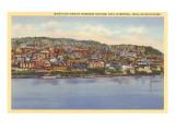 View over East Liverpool, Ohio Prints