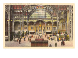 Main Concourse, Pennsylvania Station, New York City Prints