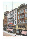 Mott Street, Chinatown, New York City Prints