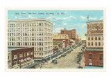 Main Street, Oklahoma City, Oklahoma Prints