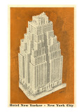 Hotel New Yorker, New York City Print