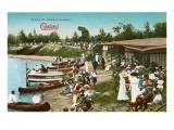 Shaker Lakes, Cleveland, Ohio Poster